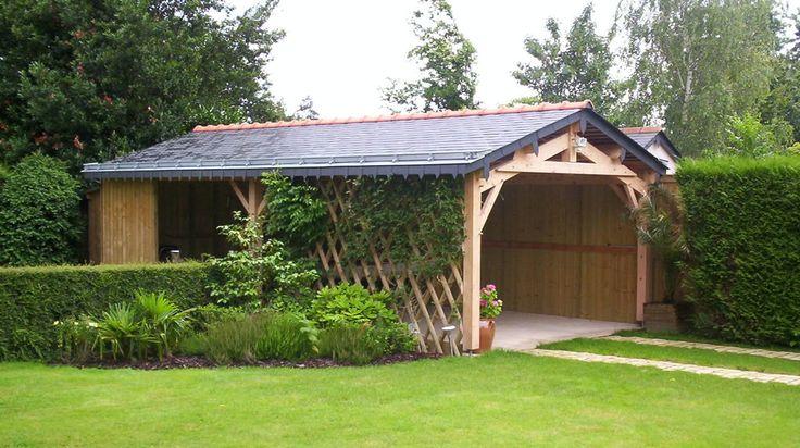 Auvent bois doizon garage pinterest auvents auvent for Garage lyon ouvert samedi