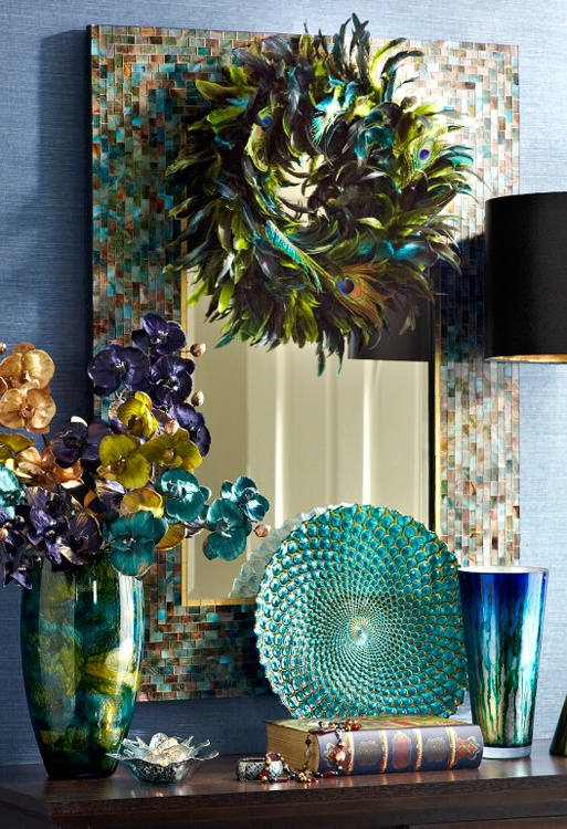 17 best ideas about peacock colors on pinterest bright for Peacock themed living room ideas