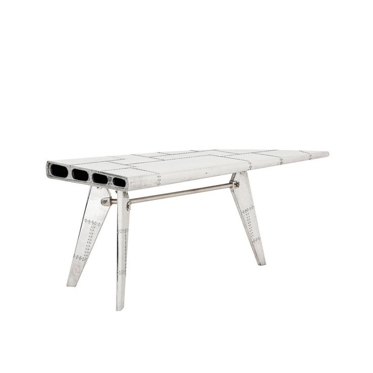 Eichholtz Convair Desk Aviator Style Metal Wing Shaped Desk. Contemporary  FurnitureContemporary ...