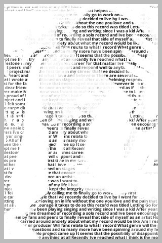 """You are your words"" This site from American Heritage Dictionary lets you create a self-portrait using your own words."