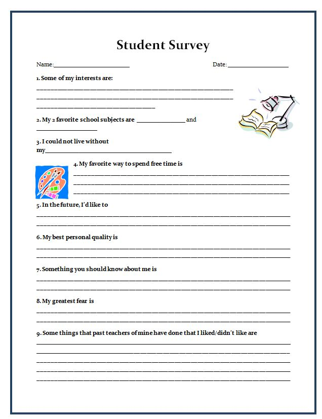 Best  Student Survey Ideas On   Student Inventory