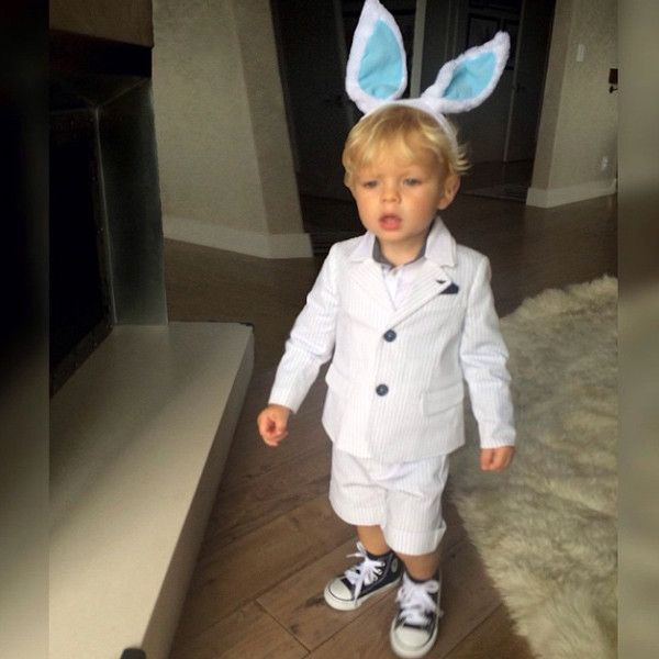 Fergie Shares Adorable Pic of Son Axl Looking Suave in His Armani Suit: Get the Special Meaning Behind the Outfit!