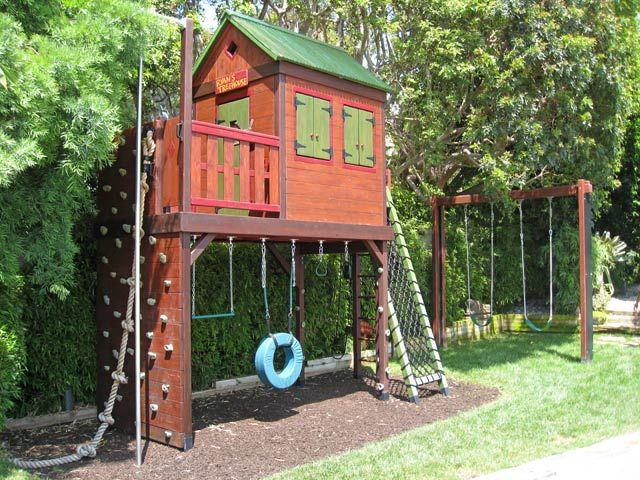 Barbara Butler-Extraordinary Play Structures for Kids -Forest Hideaway