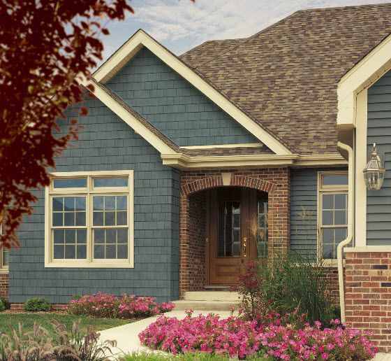 1000 Images About Home Exterior Ideas On Pinterest Red