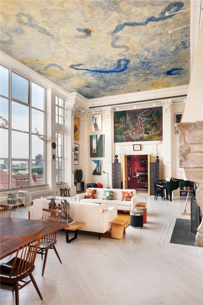 Awe Inspiring Manhattan Artists Loft