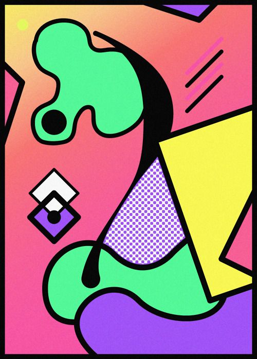 Abstract Graphic Design Posters by Paul-Henri Schaedelin   Art Sponge
