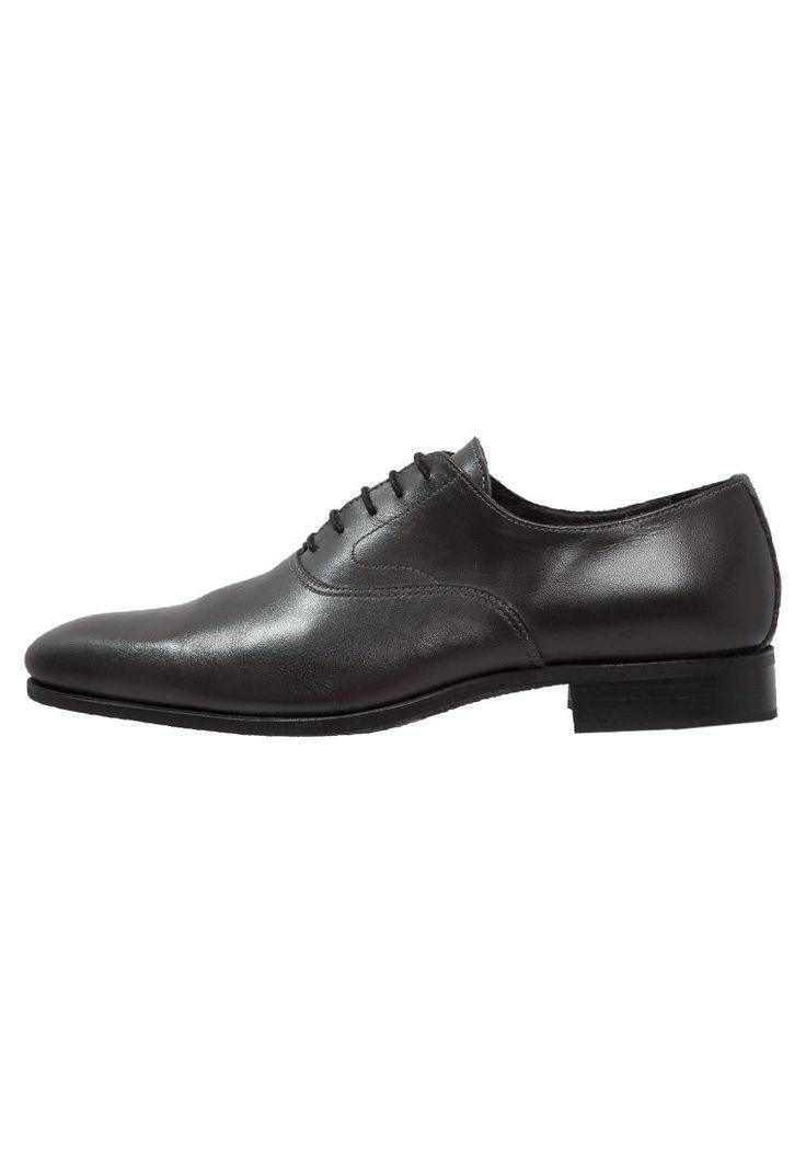 Baxton VILLANDRY Oksfordki gris 389.40zł #moda #fashion #men #mężczyzna #baxton #villandry #oksfordki #gris #półbuty #męskie #skóra #czarny #eleganckie