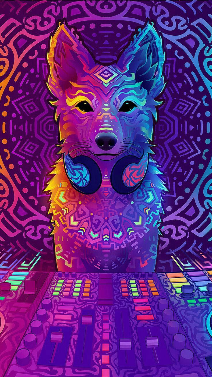 Pin By Lestherarteaga On Wallpapers Music Artwork Furry Art Psychedelic Art