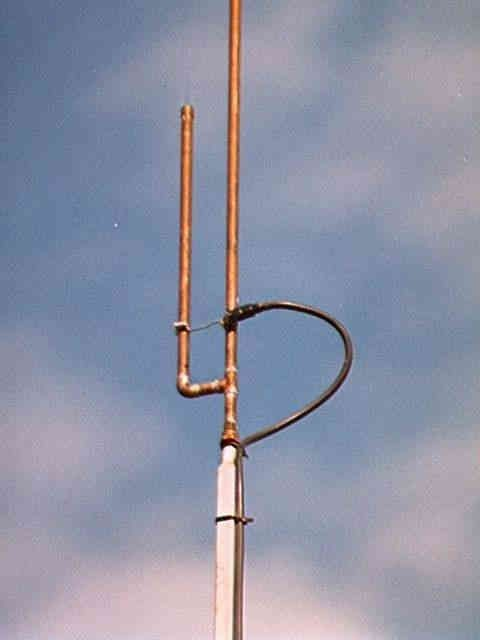 dual band J pole | MAKE culture | Ham radio antenna, Ham ...