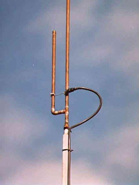 dual band J pole