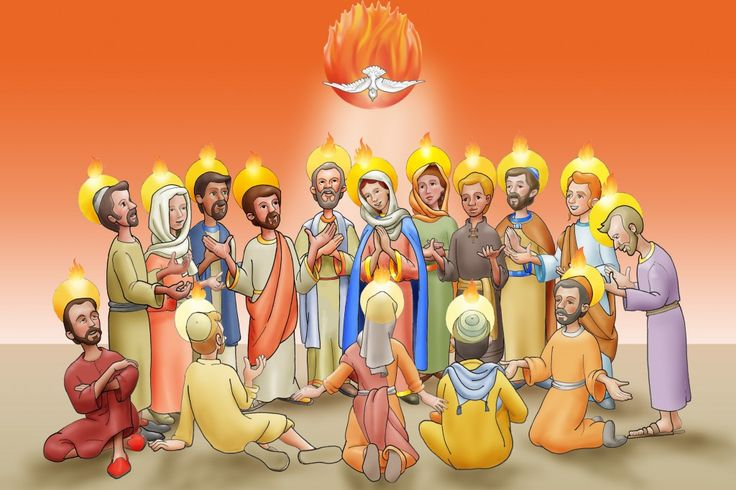 catholic pentecost lesson plans