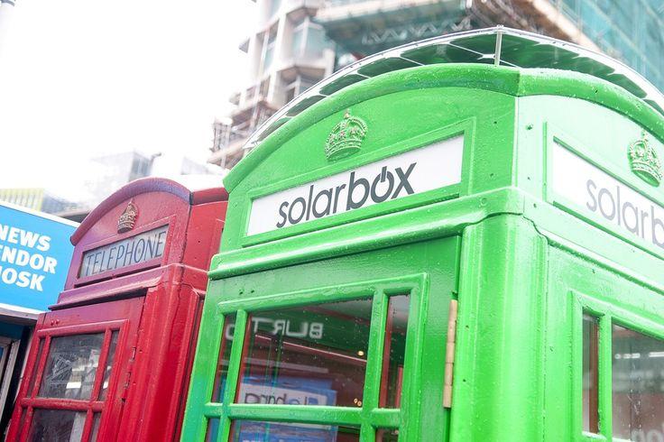 使われなくなった電話ボックスを「無料の携帯充電ステーション」に:ロンドン