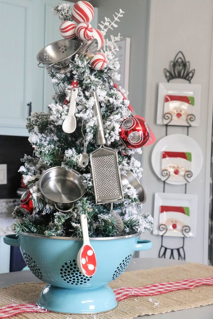Kitchen Christmas Tree