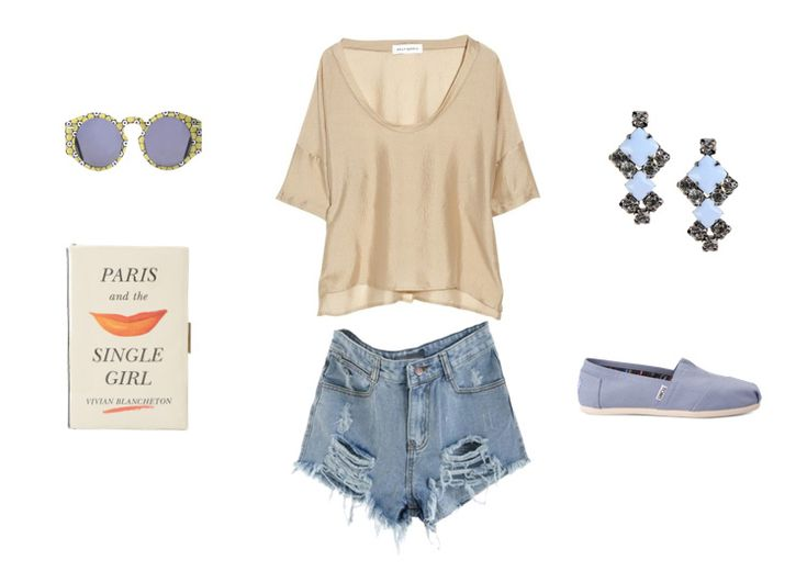 Silky Tee and the Round Sunglasses ‹ Ezzentric Blog