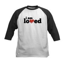 I am Loved by Jesus T-shirt from Christian Designs and Apparel on #cafepress @Cafe Press #christian #jesus #faith #god #love #loved