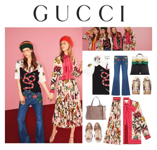 """""""Presenting the Gucci Garden Exclusive Collection: Contest Entry"""" by littlelook on Polyvore featuring Gucci and gucci"""