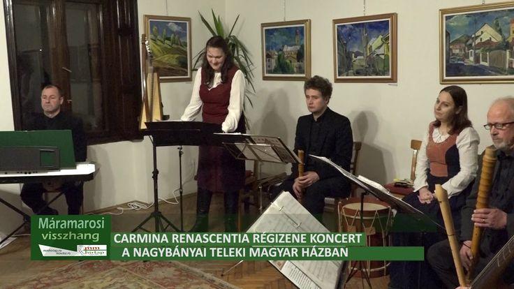 Carmina Renascentia régizene koncert a Teleki Magyar Házban, első rész