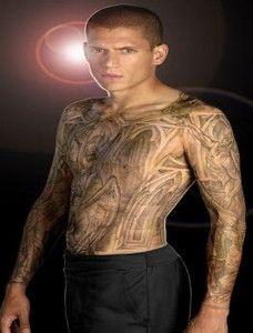 celebrity film wentworth miller prison break tattoos cool tattoos design pinterest prison. Black Bedroom Furniture Sets. Home Design Ideas