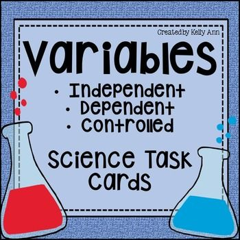 Variables {Independent, Dependent, Controlled}:*Also part of my Task Cards - Science Bundle!You are going to love sharing these with your students! These task cards and student notes are sure to make teaching variables in science so much easier! Includes 10 informative task cards, 18 situational practice task cards, and student notes that can be glued into students' science notebook for teaching and reference.**Have you checked out my best selling scavenger hunts yet?**Science Scavenger…
