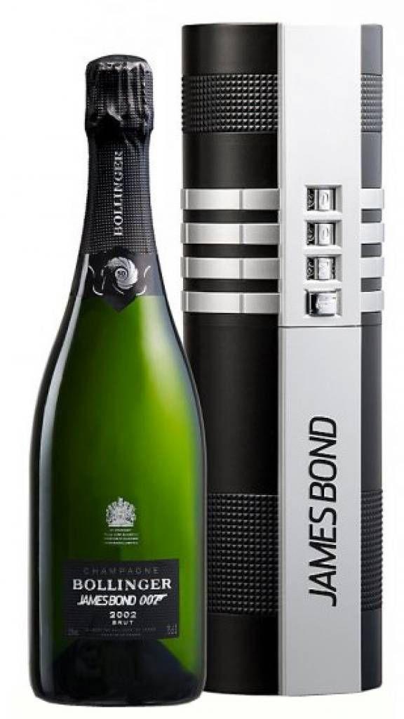 Bollinger James Bond 002 voor 007 geschenkbox - te koop bij ChampagneBabes.nl