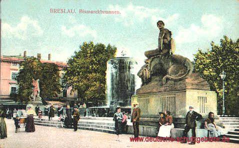 Breslau - Bismarckbrunnen