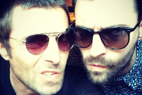 Liam Fray Liam Gallagher Courteeners Oasis