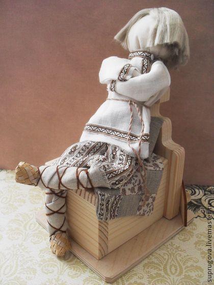 """Народные куклы ручной работы. Ярмарка Мастеров - ручная работа """"Емеля"""" Авторская кукла-образ. Handmade."""