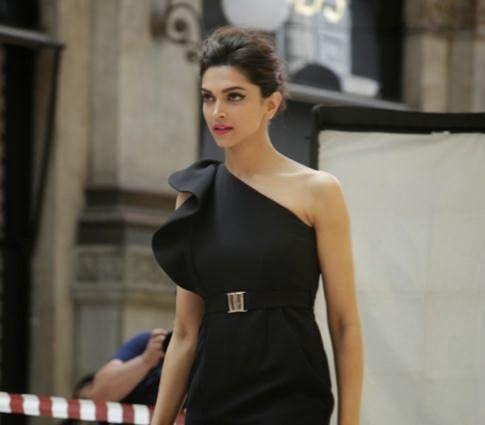 Deepika Padukone snapped beautiful on photoshoot for Van Heusen