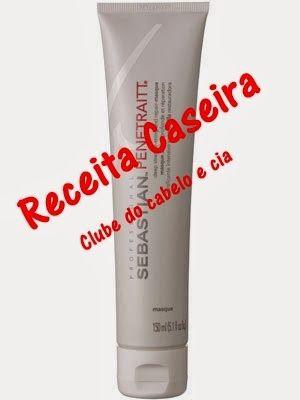 PENETRAITT MASQUE - SEBASTIAN (VERSÃO CASEIRA) | Clube do cabelo e cia