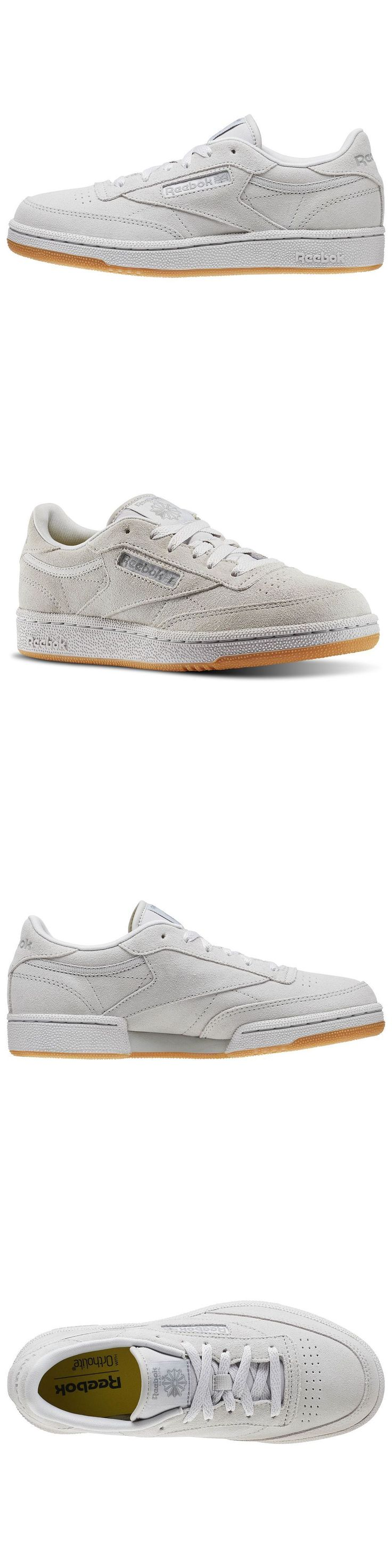 Youth 158954: Kids Reebok Club C 85 Tg Steel Bd4561 Gs Junior Classic Suede Carbon Gum -> BUY IT NOW ONLY: $55 on eBay!