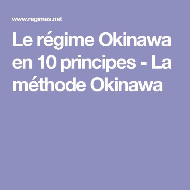 Le régime Okinawa en 10 principes - La méthode Okinawa