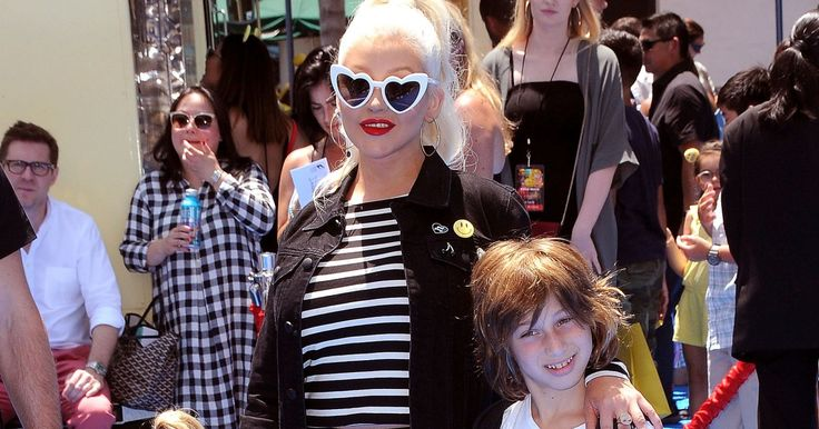 WATCH: Christina Aguilera's Son Max Fills in for His Mom's Dance Rehearsal