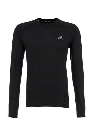 Лонгслив Adidas Performance - отличное дополнение спортивного образа. Модель черного цвета выполнена из мягкого трикотажа. Детали: круглый вырез, цельнокроеный рукав, логотип бренда. http://j.mp/1rQdXOk