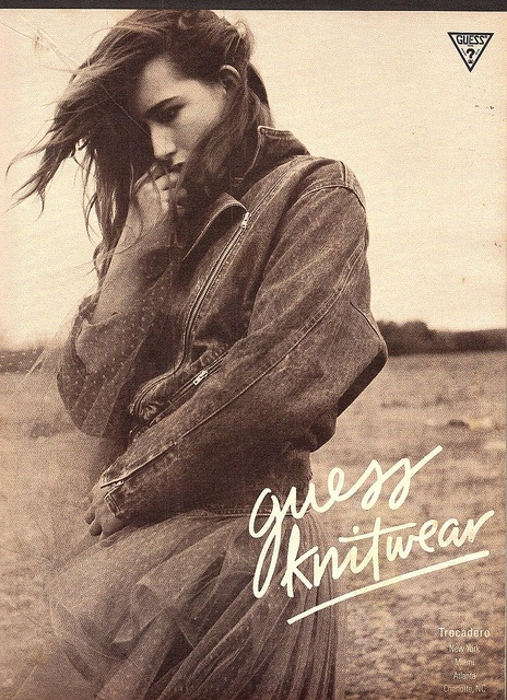 Guess jeans Ad 1986