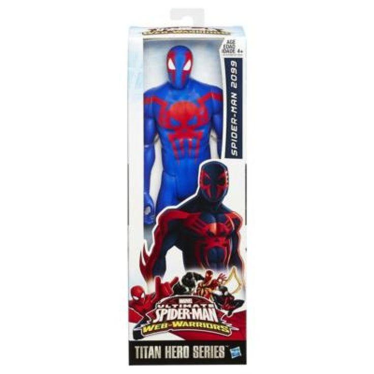 Juguete SPIDERMAN TITAN WEB WARRIORS de Hasbro Precio 9,83€ en IguMagazine #juguetesbaratos