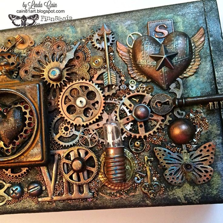 Best 25 gear art ideas on pinterest rust steam emily for Steampunk arts and crafts