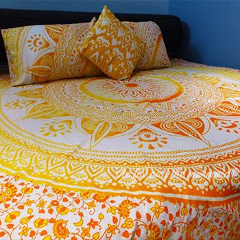 Mellow Yellow Tapestry Bedding