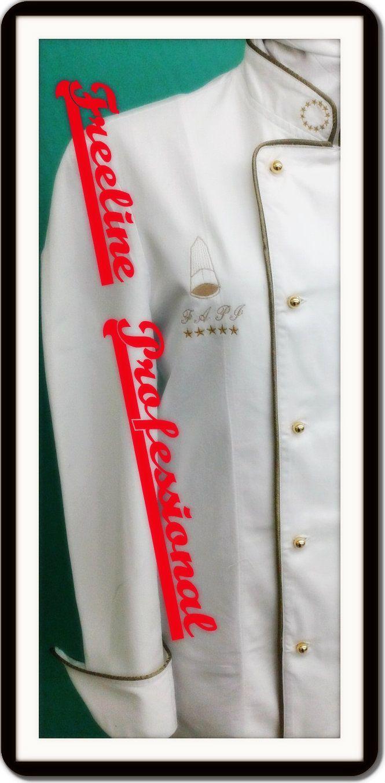 particolare #logo #ricamato nuova Divisa #F.A.P.I.  http://www.freelineprofessional.it/category/news-eventi/