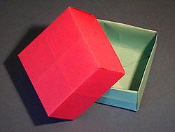 Kästchen falten -  für Adventskalender oder kleine Schätze :-) (Diy Paper Folding)