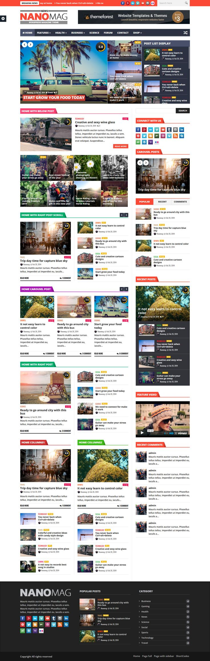 NanoMag – Responsive WordPress Magazine Theme. Download: http://themeforest.net/item/nanomag-responsive-wordpress-magazine-theme/10036095?ref=ksioks