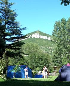 Camping Indigo Millau - Les emplacements