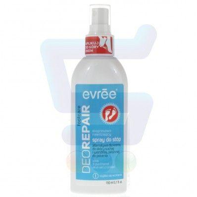 11,29zł Evree Fpptcare Ekspresowo nawilżający spray do stóp DeoRepair 150 ml / S029934 /1