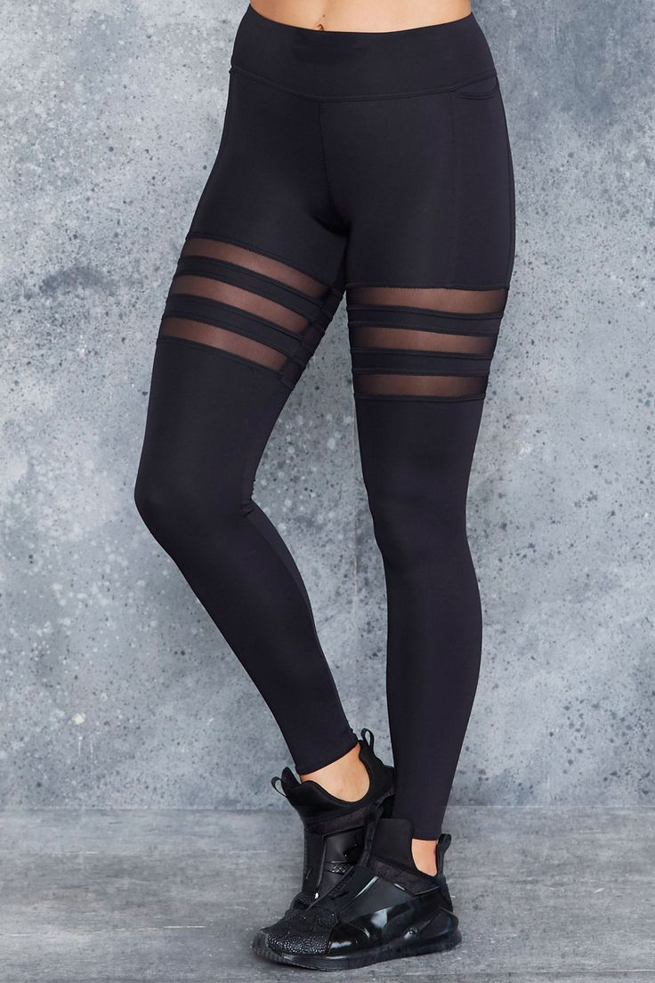 Sporty Stripes Ninja Pants - LIMITED ($130AUD) by BlackMilk Clothing