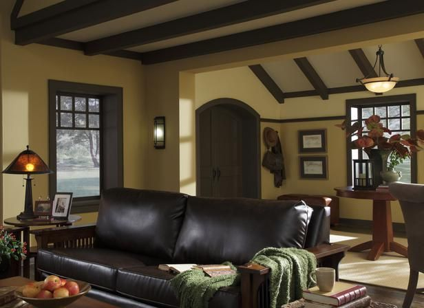 Lovely Craftsman Living Room