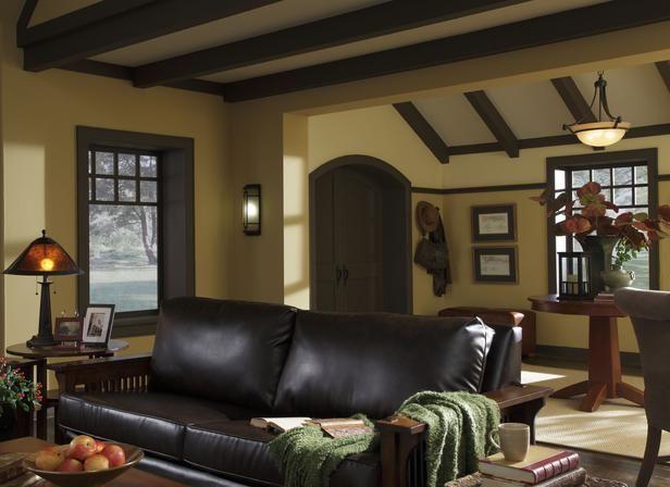 17 best ideas about craftsman living rooms on pinterest for Modern craftsman interior design
