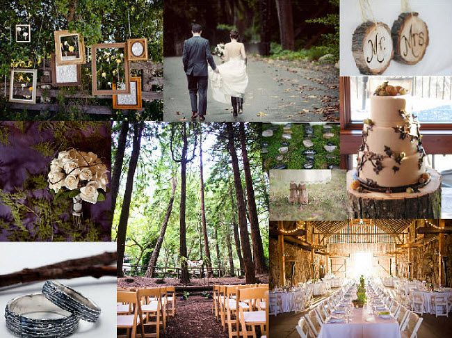 Hanging Frames Add Interest To A Rustic Wedding Great Way