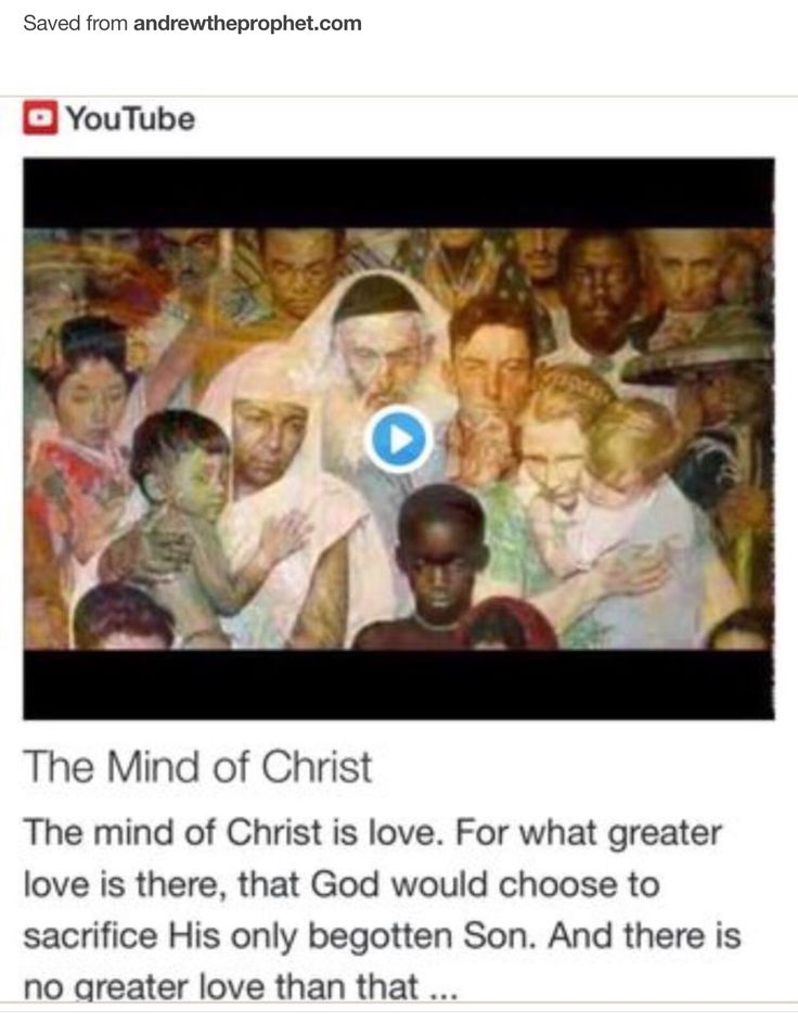 The Mind of Christ from Signs, Science and Symbols of the Prophecy http://www.andrewtheprophet.com/11001/97752.html