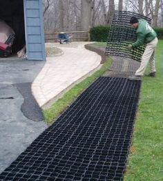 StabiliGrid - Grass Driveway - Simple Installation