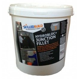 HYDROBLOC+ FILLET SEAL Use in conjunction with HydoBloc+ Tanking Slurry to create a complete waterproofing tanking system - SkilledBuild UK