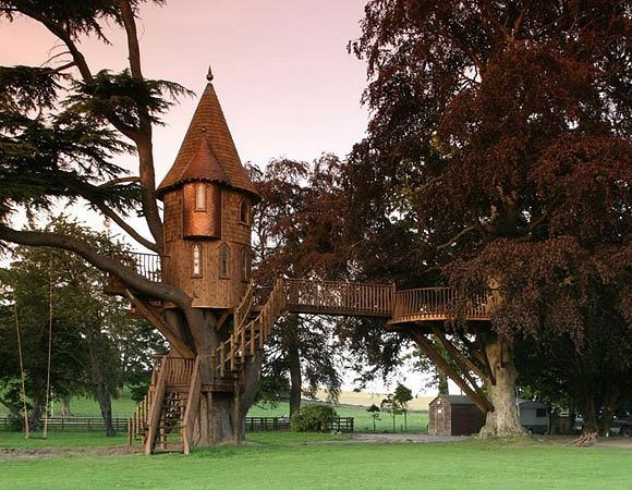 TREEHOUSE: Amazing Trees Houses, Dreams, Towers, Princesses Style, Kids Plays Houses, Tree Houses, Treehouse, Labels Design, Awesome Trees Houses